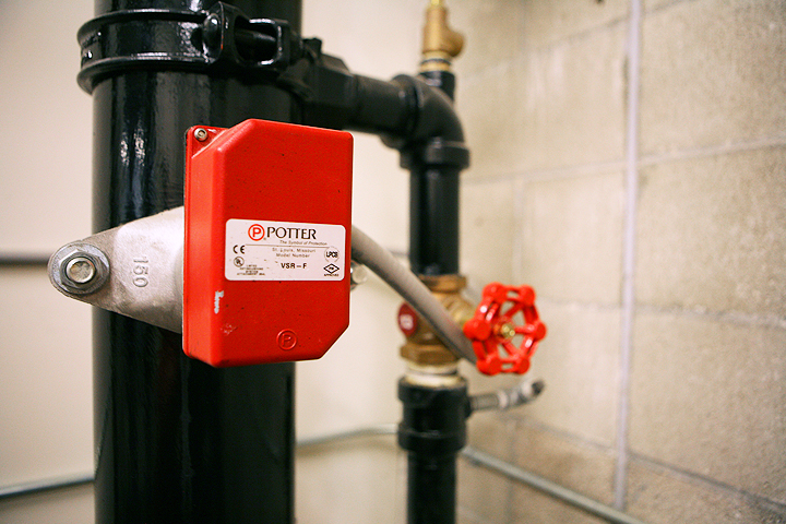 Fire Alarms - Waterflow device