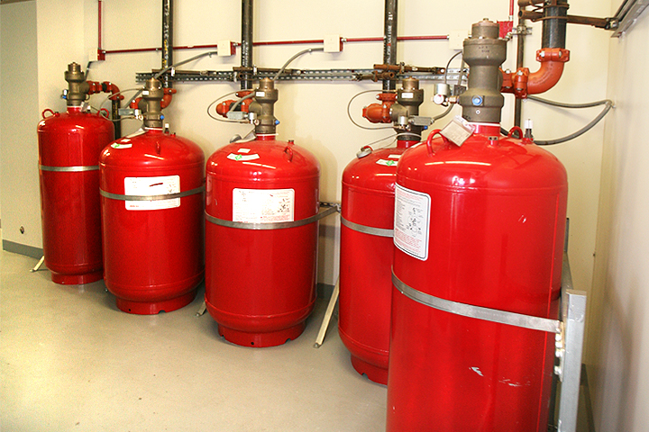 Fire Extinguishers - Tanks